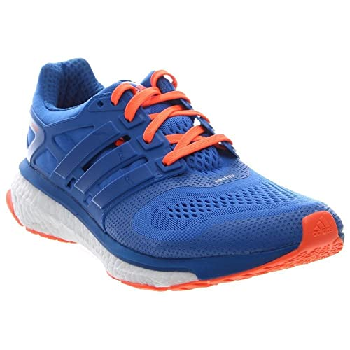 Adidas Energy Boost 2 M Running Shoe - Blue / Orange - Mens - 8