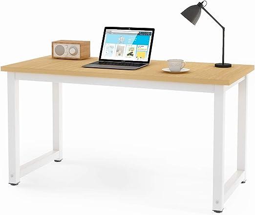 Mesa de escritorio para ordenador, diseño sencillo y moderno, para ...