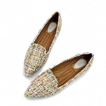 20974f77e9ff3 Amazon.com: August Jim Women Flats Shoes,Women Ballet Flats Shoes ...