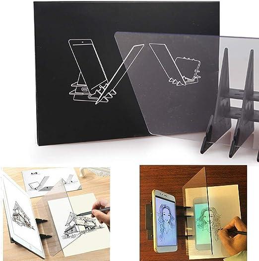 Tablero de dibujo óptico Tablero de trazado Lente de dibujo ...