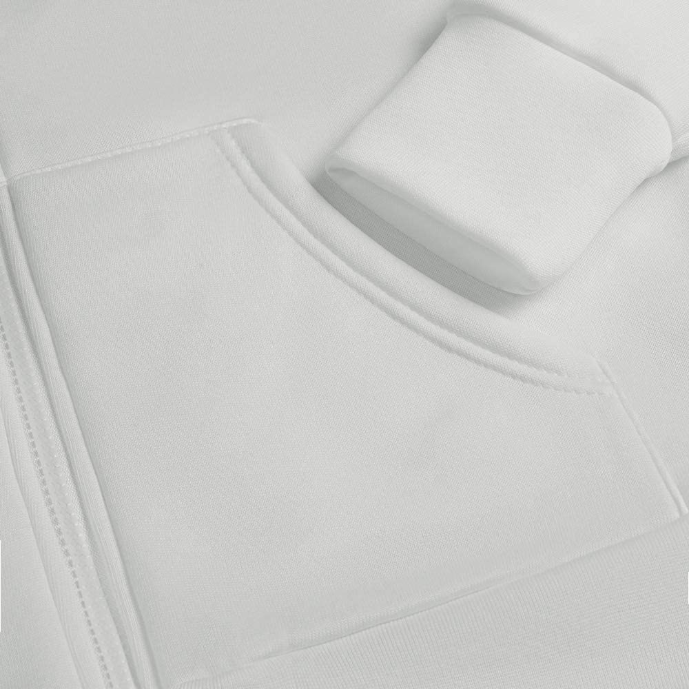 Hiistandd Damen Hoodies Casual Langarm Sweatshirt V-Ausschnitt Pullover Strickjacke Rei/ßverschluss Tops mit Taschen