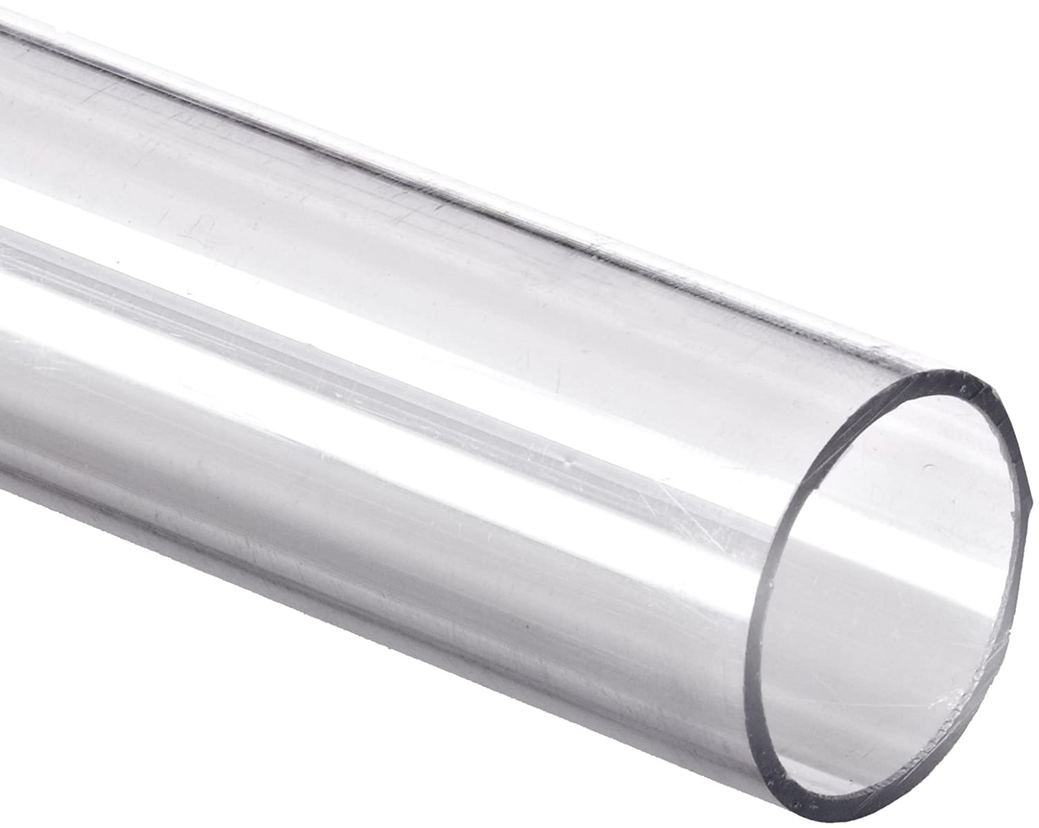 "2 pc 5//8/"" OD x 1//2/"" ID DIAMETER THIN WALL CLEAR ACRYLIC PLEXIGLASS TUBES 36/"" 3FT"