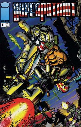 SUPERPATRIOT #'s 1-4 Complete story (SUPERPATRIOT (1993 IMAGE))