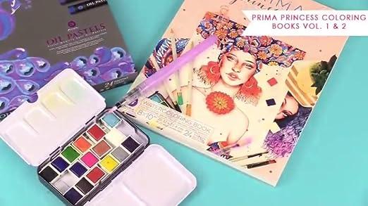Prima Marketing Cling Stamps-Prima Princesses-Katherine