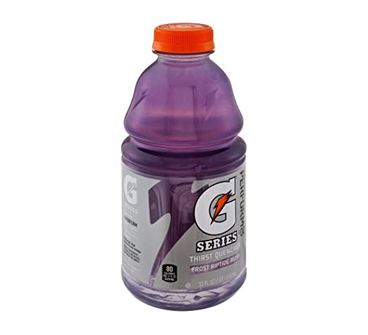 Gatorade G Frost Riptide Rush Thirst Quencher Sports Drink 32 oz (Pack of 12)