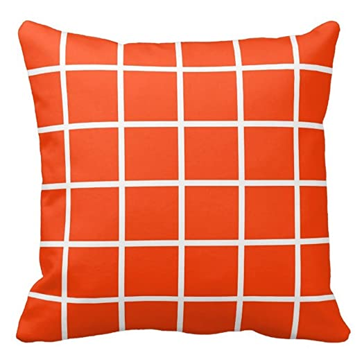 Bags-Online pillowcover Accent Decorativo Chequer Patrón ...