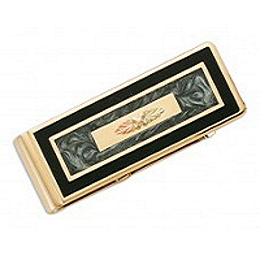 Black Hills Gold Leaf Money Clip