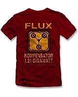 Flux Kompensator Zurück In Die Zukunft T-Shirt S-XXL 12 Farben / Colours