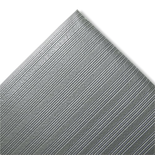 Crown FJS736GY Ribbed Anti-Fatigue Vinyl Mat, 27