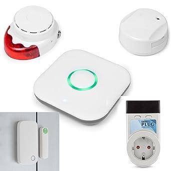 Kit Smart Home Sicherheit Smartphone Amazon De Gewerbe Industrie