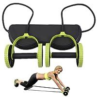 Leeko Bauchtrainer Bauchmuskel-Trainer mit Ab Roller Bauch Taille Abnehmen Bauch-Übung Ausrüstung Bauchtrainer-Rad