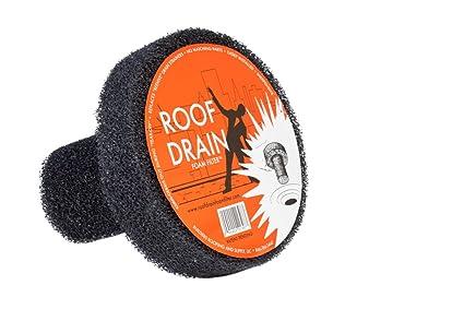 Roof Drain Foam Filter 4-Inch - Bathroom Sink And Tub Drain ...
