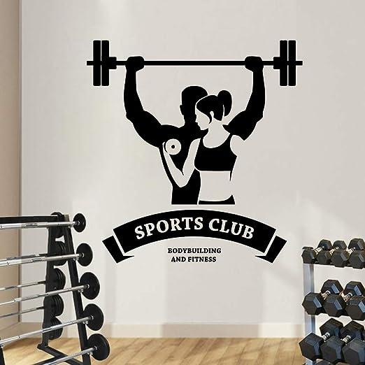 GJQFJBS 3D Sports Club Sticker Decoración para el hogar ...