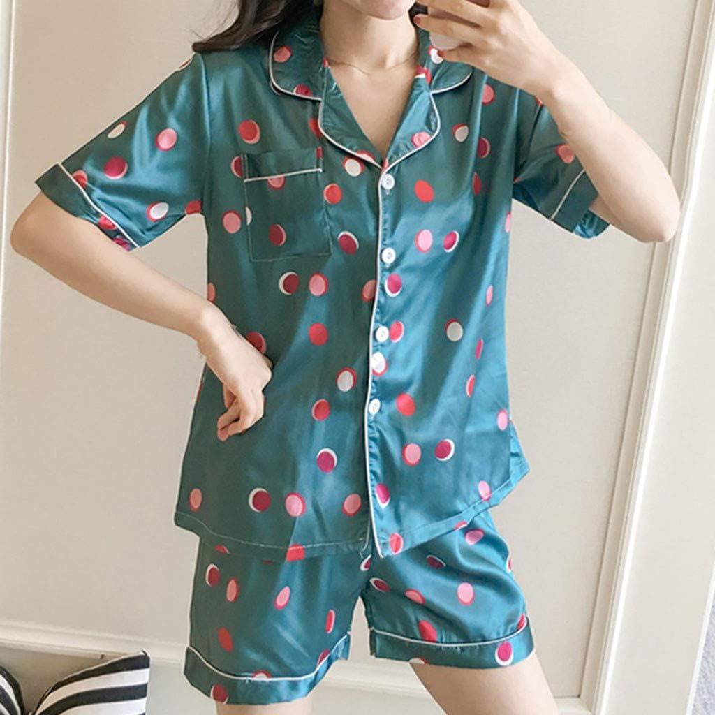 Huifa Women Plus Size Pajamas Underwear Summer Nightdress Sleepwear for Ladies