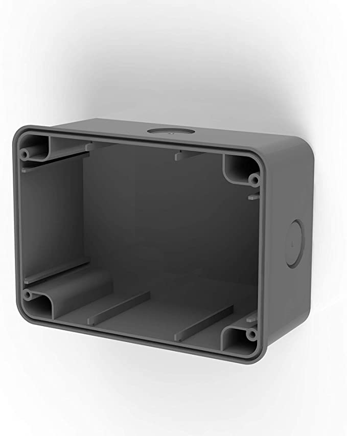 Caja de pared IP67 para Wide color gris antracita: Amazon.es: Iluminación