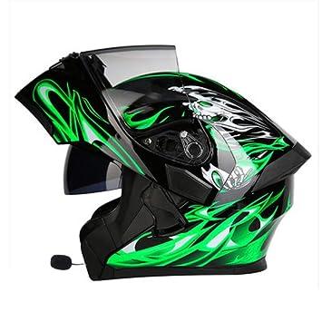 M-TK Motocicleta Motocross Bluetooth Cascos Dot Modular Flip ...