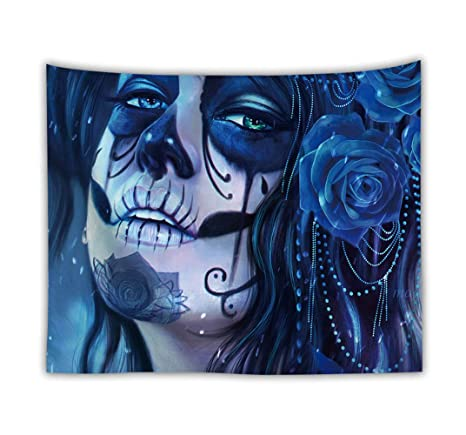 CYYCY Bohemian Mandala Tapestry Hippie Floral Tapestry ...