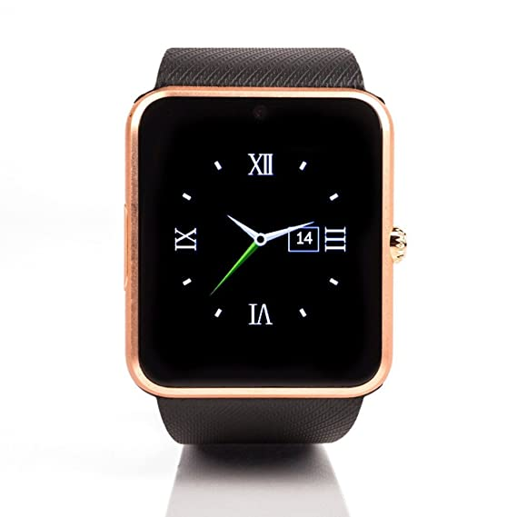 Amazon.com: Smart Watch GT08 Clock Sync Notifier Support Sim ...