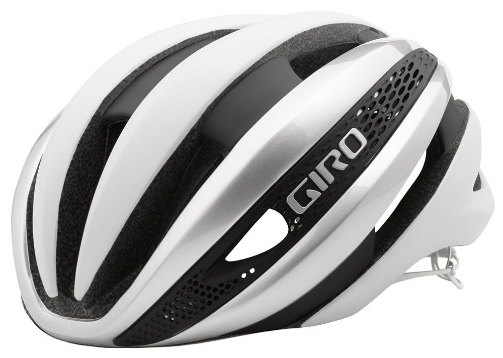 Giro Synthe Helmet, Matte White/Silver, Medium