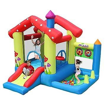 WJSW Castillos hinchables Castillo Inflable para niños Inicio Casa ...