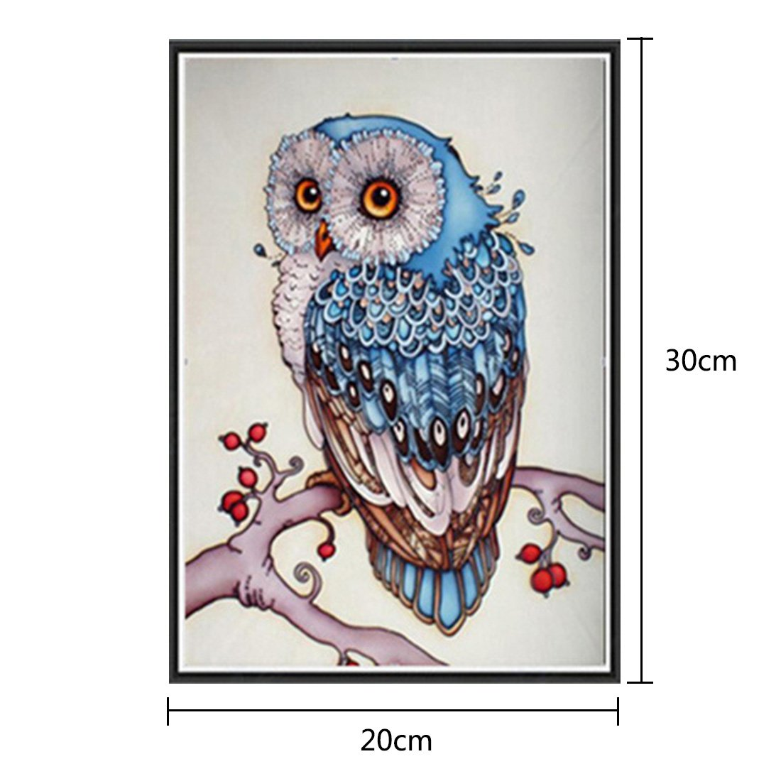 joyliveCY 5D Diamond Embroidery Paintings Rhinestone Pasted diy painting Cross Stitch Animal Peacock Right