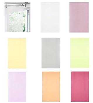 Ikea Schiebegardine amazon de ikea schiebegardine luddhavre transparent in 2 farben lila