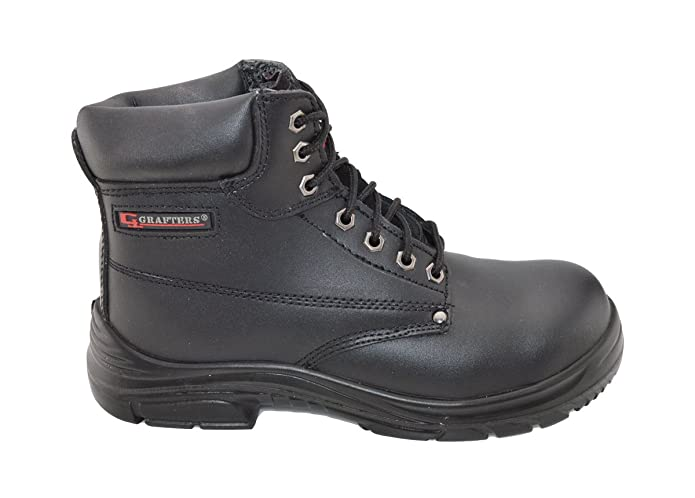 f3c1eb4ff86 Grafters Extra Extra Wide (4E Fitting) Work Boot with Steel Toe Cap   Amazon.co.uk  Shoes   Bags