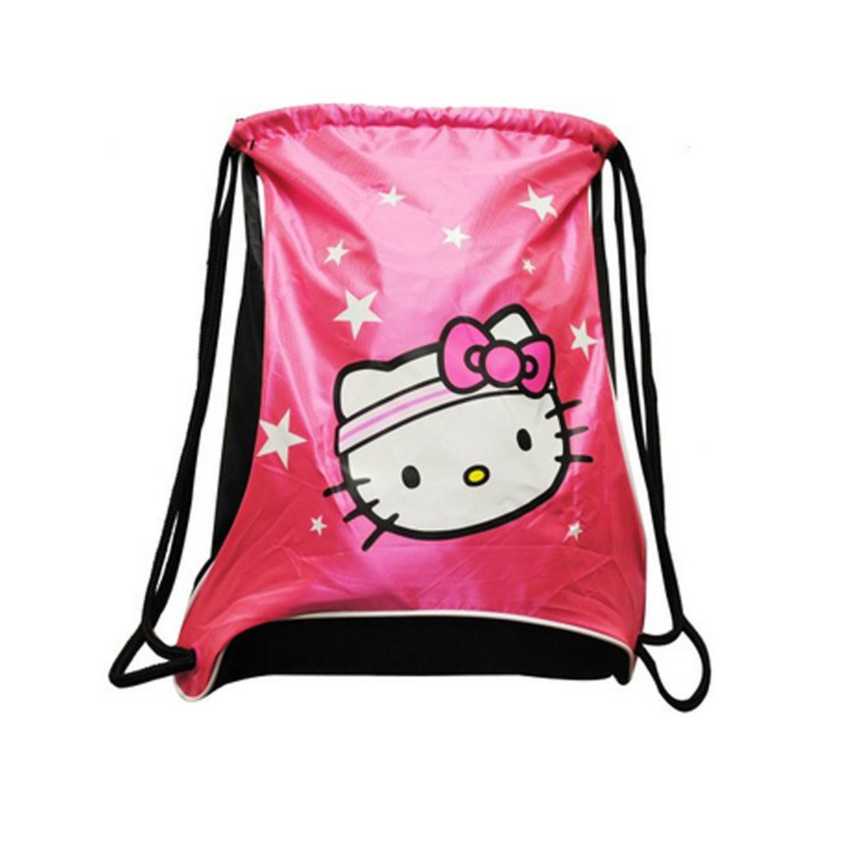 Hello Kitty Sports Sackpack, Hot Pink