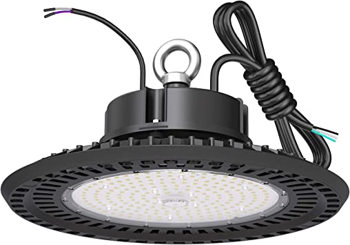 BFT LED High Bay Light 240W UFO 5000K 36,000LM,0-10V Dimmable,1000W HID/HPS Replacement,UL 6-Foot Cable,UL Certified Driver IP65,Hook Mount,Shop Lights,Garage,Factory,Warehouse,Workshop,Area Light.