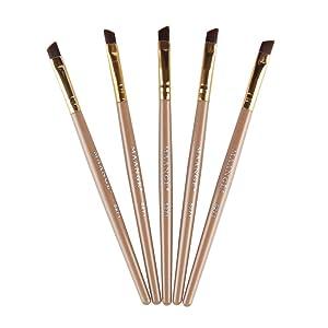 Baomabao Makeup Cosmetic Brushes Powder Foundation Eyeshadow Contour Brush Tool