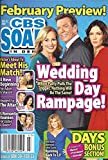 Peter Bergman, Stacy Haiduk and Genie Francis (Young and the Restless), Hunter Tylo Centerfold, Eric Roberts, Alison Sweeney - February 13, 2012 CBS Soaps in Depth Magazine [SOAP OPERA]