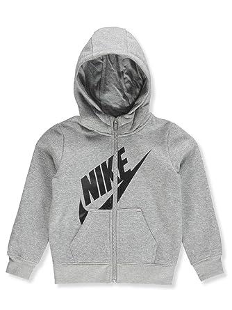 63a02c8010 Amazon.com: Nike Kids Mens Futura Fleece Full Zip Hoodie (Toddler): Clothing