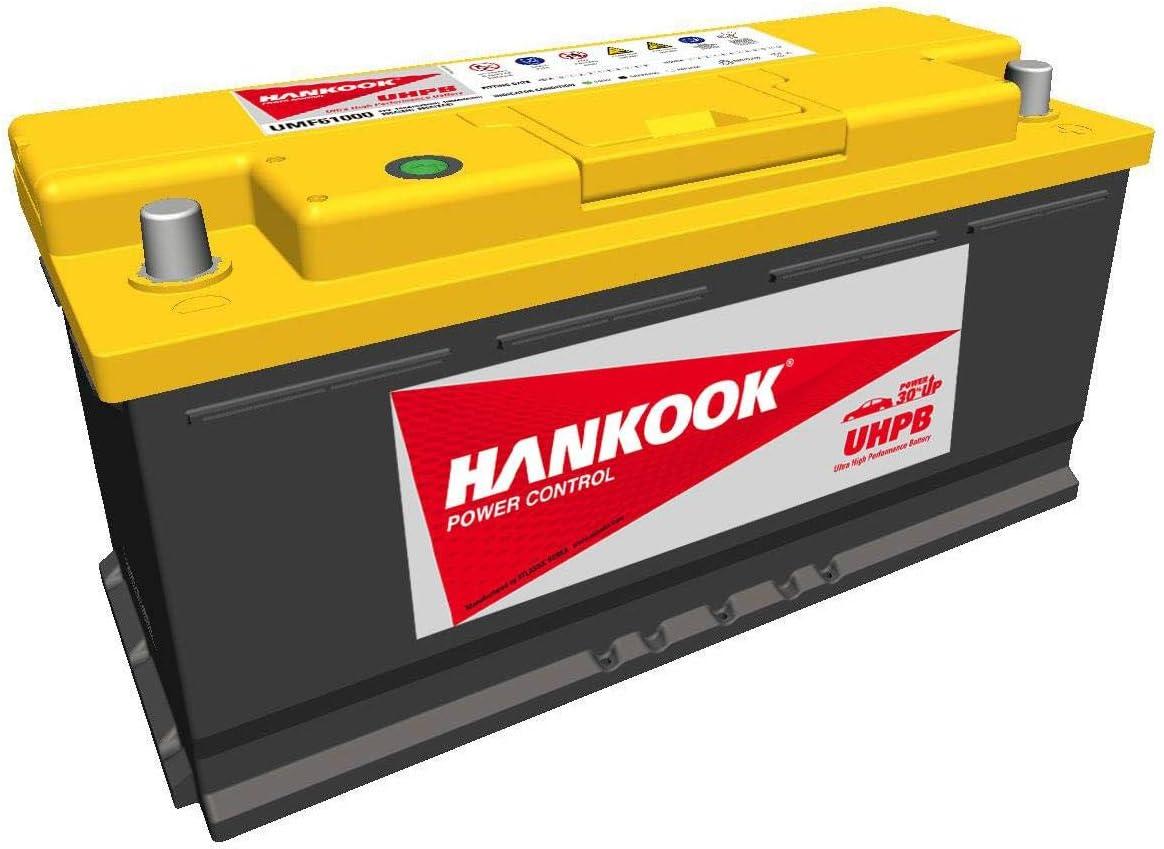 wartungsfrei Hankook UHPB UMF 610 00 Ultra High Performance Autobatterie 12V 110Ah 950A//EN