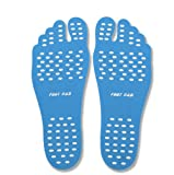 Chase Fans Beach Foot Pads for Barefoot Lover,Stick on Soles,Invisible Shoes Stick on Foot Pads,Foot Stickers, and Waterproof Design, 3 Pairs/Pack