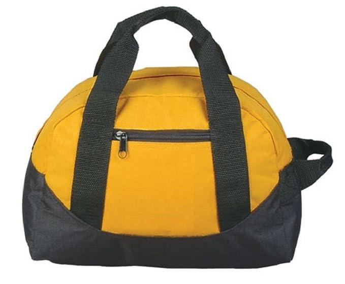c16e1f31b943 Amazon.com  Two Tone Duffle Duffel Travel Sport Gym Locker Bags Carry  Luggage Small 12 Inch  Clothing