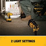 DEWALT 20V MAX LED Work Light, Pivoting Head