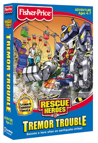 Fisher-Price Rescue Heroes: Tremor Trouble - PC/Mac