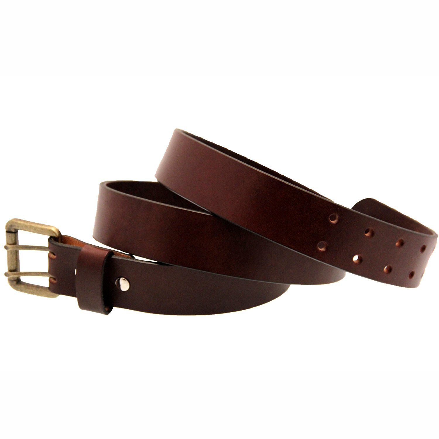 Orion Leather 1 1//2 Sunset Brown Harness Leather Belt Double Hole