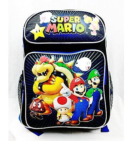 Mochila - Nintendo - Super Mario Bros y amigos notebookbits SD26777