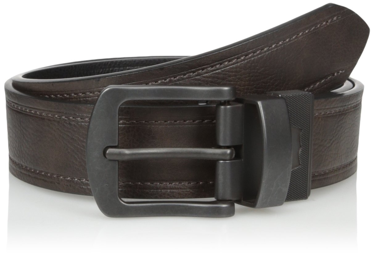 Levi's Men's 1 9/16 Inch Reversible Belt with Textured Leather
