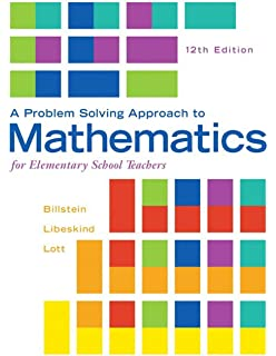 Knowing and teaching elementary mathematics teachers understanding a problem solving approach to mathematics for elementary school teachers 12th edition fandeluxe Choice Image