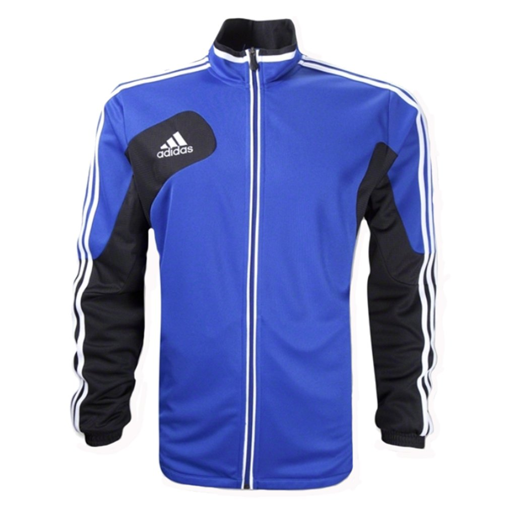 adidas New Boys' Condivo 12 Youth Soccer Training Jacket Cobalt/Black/White Kids Medium
