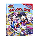Disney Mickey and The Roadster Racers Go, Go, Go (First Look & Find)