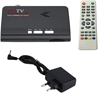 Ballylelly Digital Terrestre HDMI 1080P DVB-T / T2 Smart TV VGA AV CVBS Sintonizador Receptor con Control Remoto HDMI HD 1080P VGA DVB-T2 Smart TV: Amazon.es: Electrónica