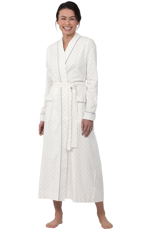 PajamaGram - Vestaglia da Donna a Pois - 100% Cotone GAMV05558
