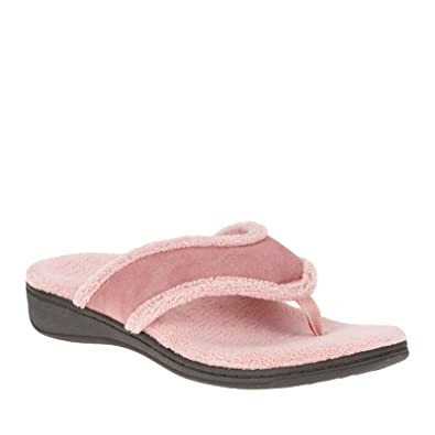 6c2686b8fb5 Vionic Bliss - Womens Orthotic Slipper Sandals Rose - 6