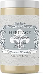 Tuscan Wheat, Heritage Collection All In One Chalk Style Paint (NO WAX!) (8oz)
