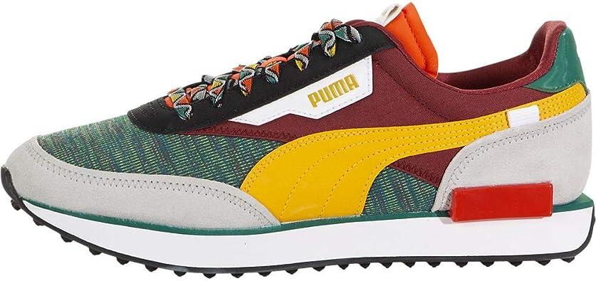 PUMA Men's Rider Sneaker Mix/Burgundy 373184-01