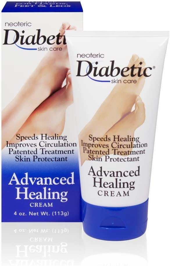 Neoteric Diabetic Skin Care Advanced Healing Cream - 4 oz, Pack of 3