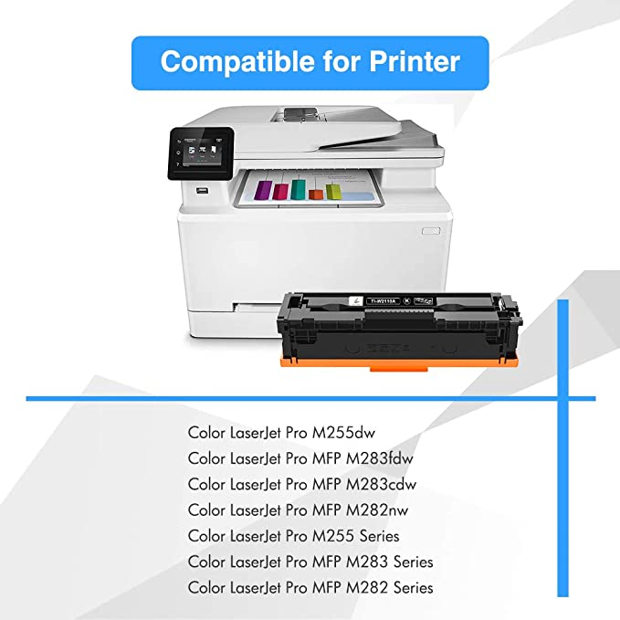 CNY Toner 3 Packs Compatible Toner Replacement for HP Q6461A Works with Cyan Color Laserjet 4730 MFP,/4730X MFP,/4730XS MFP,/CM4730 MFP,/CM4730F MFP,/CM4730FM MFP,/CM4730FSK MFP,/4730XM MFP